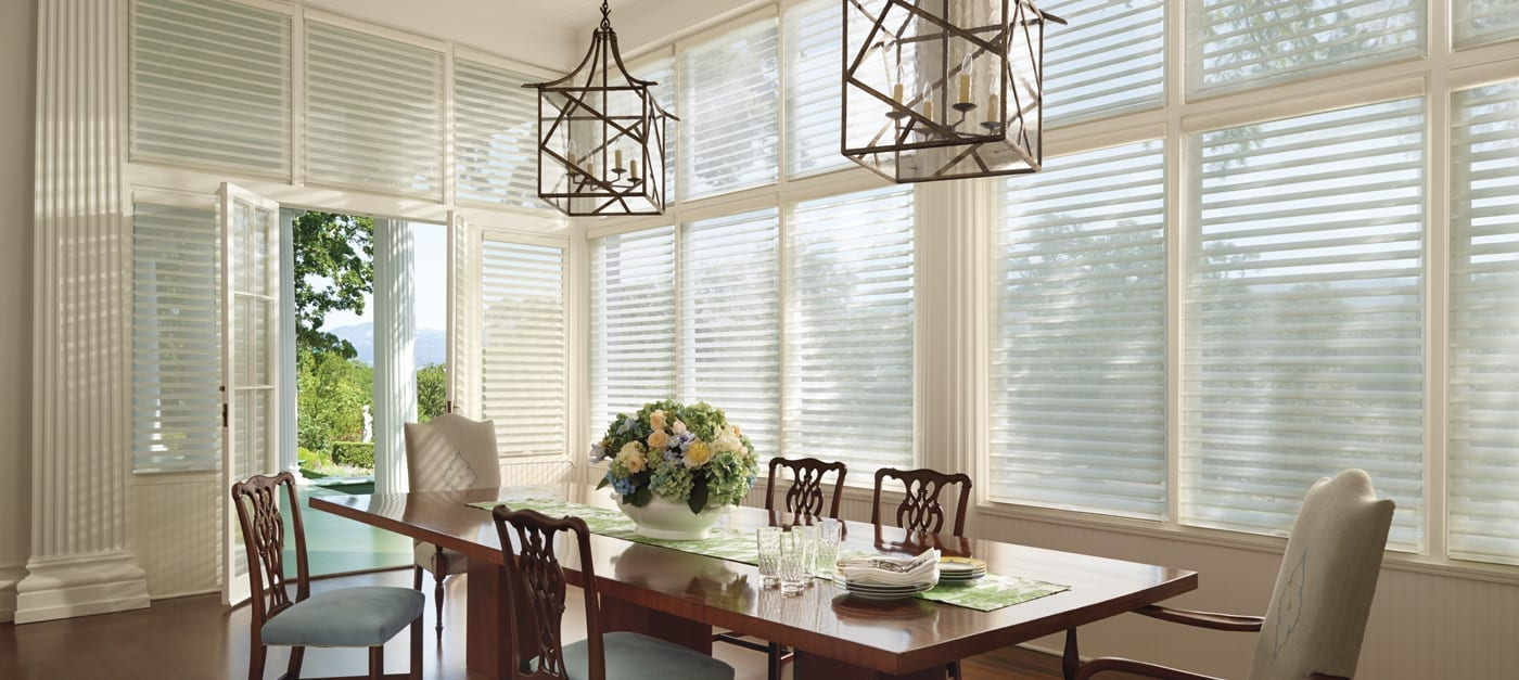 hunter douglas dining room