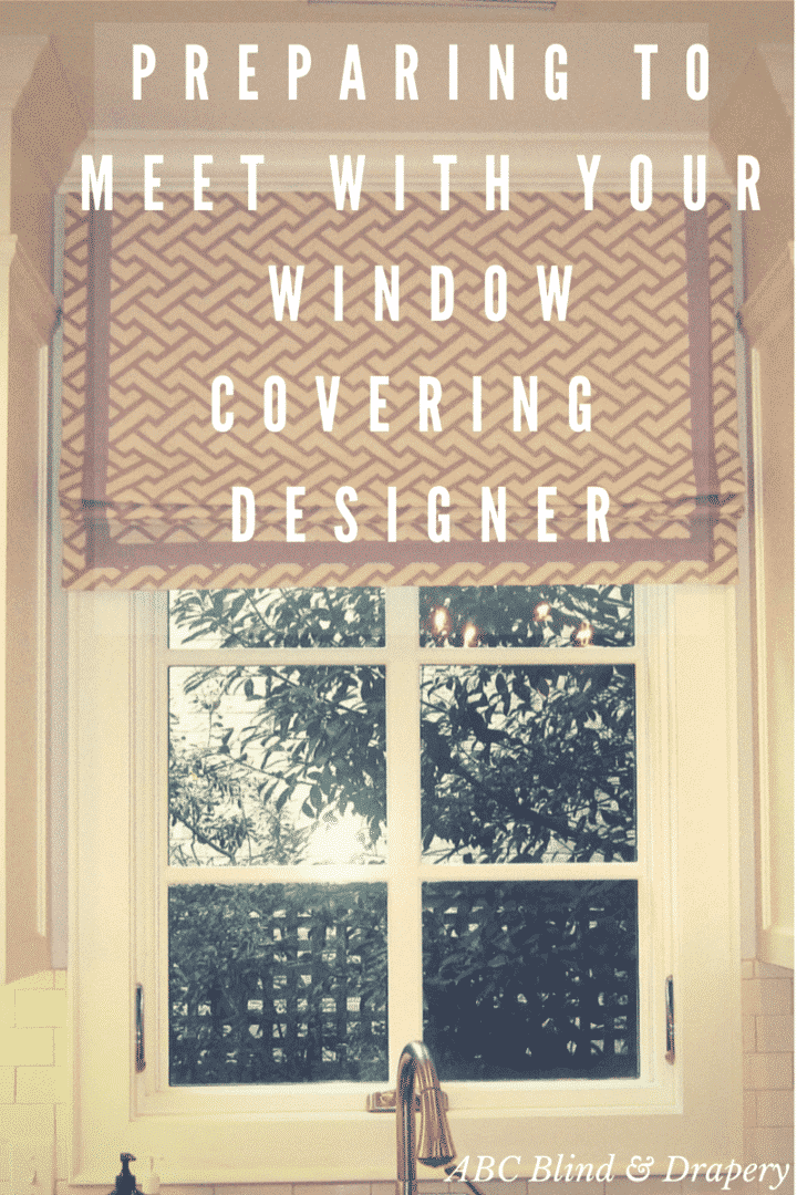 roman shade window covering designer
