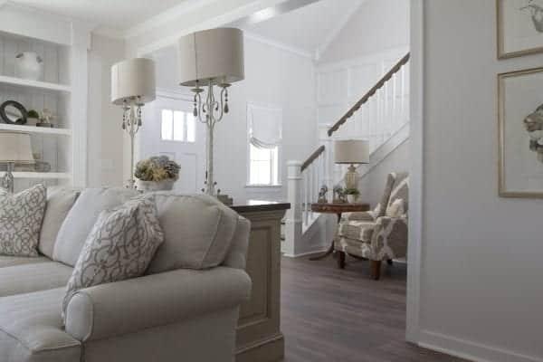 white interior house