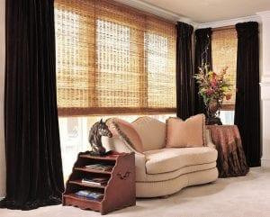 natural woven grass shades