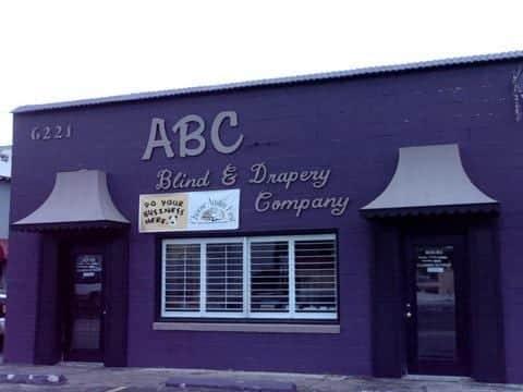 purple abc storefront